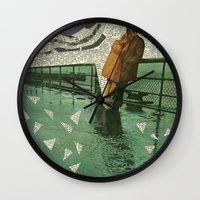 maryland Wall Clocks featuring Maryland by Nico Padayhag