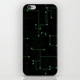 Electric Maze iPhone Skin