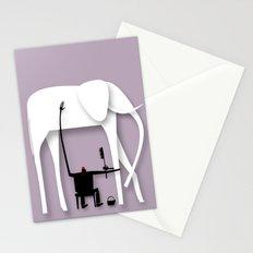 Elephant's trip Stationery Cards