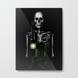 Cinema Macabre Metal Print