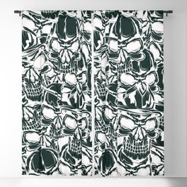 Pirate - White - Pirate Blackout Curtain