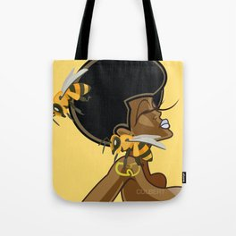 Fro Buzzed Tote Bag