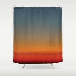 Sunrise at 30,000 ft Shower Curtain