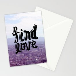Find Love Stationery Cards
