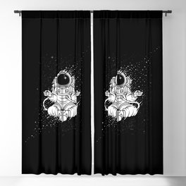 Becoming One With The Universe Blackout Curtain