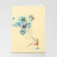 nursery Stationery Cards featuring Water Balloons by Alice X. Zhang