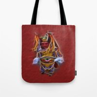 theatre Tote Bags featuring Chinese Theatre by Lucia