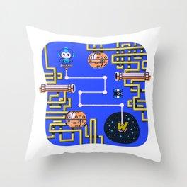 Overworld: Crash Throw Pillow