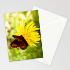 Balancing on flower Stationery Cards