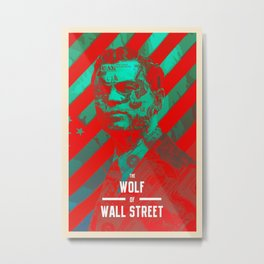 The Wolf Of Wall Street Alt Metal Print