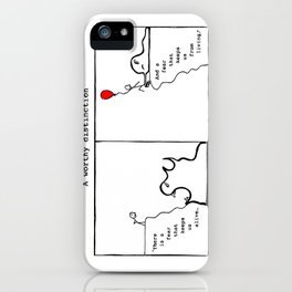 A Worthy Distinction iPhone Case