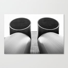 Air - Duct - Pipe Canvas Print