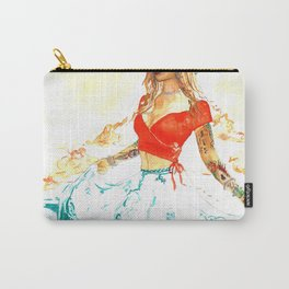 She is the Sea - Risa Marie Bohemian Ocean Goddess Carry-All Pouch