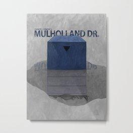 Mulholland Drive - alternative poster Metal Print
