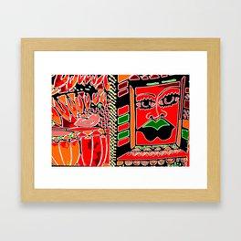 Big Up! Africa! Framed Art Print