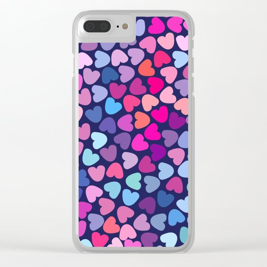 Love Love Love ..... Clear iPhone Case