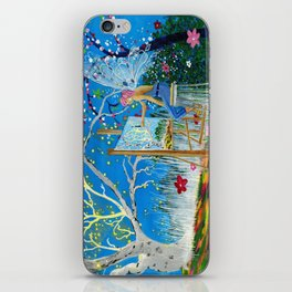Fairy Artist iPhone Skin
