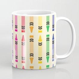 Well Color Me Crayons Coffee Mug