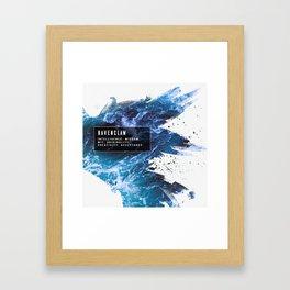 Ravenclaw Nature Framed Art Print