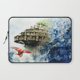 """The castle in the sky"" Laptop Sleeve"
