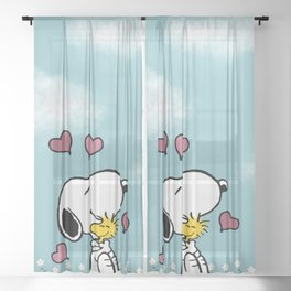 Love Sheer Curtain