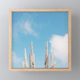 Bolt Out of the Blue Framed Mini Art Print