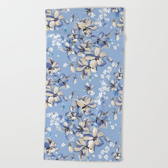 Spring is in the air #16 Beach Towel