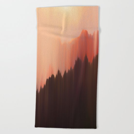 Afternoon Sun Beach Towel