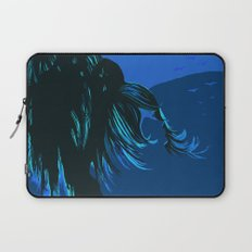 The tree blows at night Laptop Sleeve