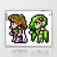 Final Fantasy II - Rosa and Rydia Laptop & iPad Skin