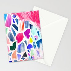 Pink Terrazzo Stationery Cards