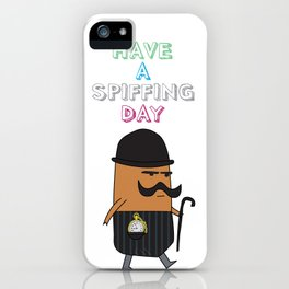 Spiffing iPhone Case