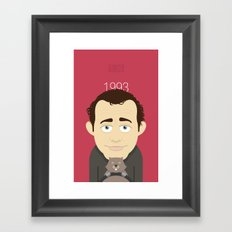 Groundhog Bill Framed Art Print