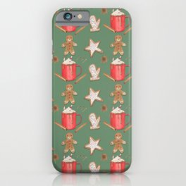 Holiday Treats iPhone Case