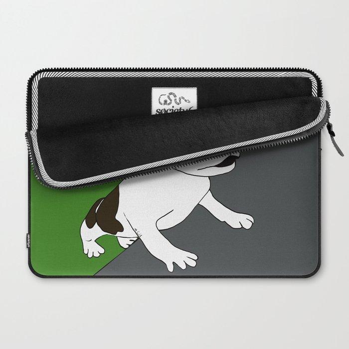 Annie The Boston Terrier Laptop Sleeve