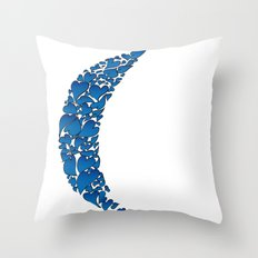 A Moon full of hearts 2 Throw Pillow