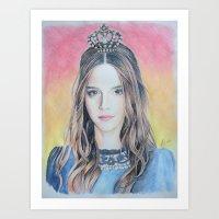 Queen Emma Art Print