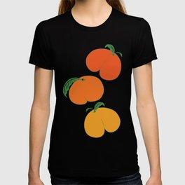 Orange Peaches Butts T-shirt