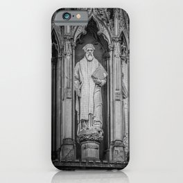 Archbishop Cranmer on the Marty's Memorial in Oxford England iPhone Case