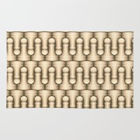 chess Area & Throw Rugs featuring Chess by Kippy