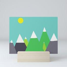 Mountain Mini Art Print