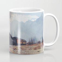 Mountain Train Coffee Mug