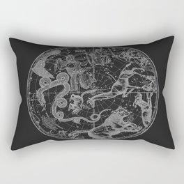 The Constellations - Dark Rectangular Pillow