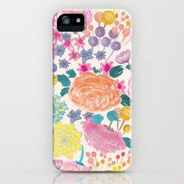 Flowers IIII iPhone Case