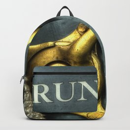 Abstract Automotive Backpack