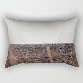 Hiding ground Rectangular Pillow