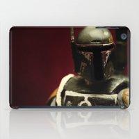 boba fett iPad Cases featuring Boba Fett by Gareth Payne