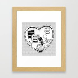 """""""gum - moose blood"""" Framed Art Print"""