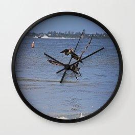A Gentleman Undone Wall Clock