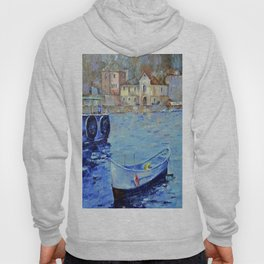 Lonely boat Hoody